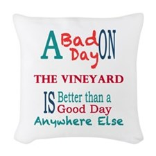 The Vineyard Woven Throw Pillow