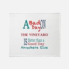 The Vineyard Throw Blanket