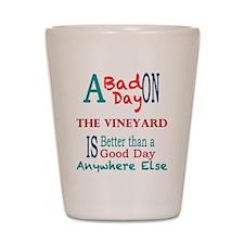 The Vineyard Shot Glass