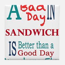 Sandwich Tile Coaster