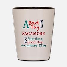 Sagamore Shot Glass