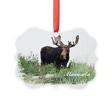 Minnesota Moose Ornament