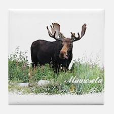 Minnesota Moose Tile Coaster