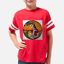 muertita clock Youth Football Shirt