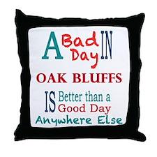 Oak Bluffs Throw Pillow