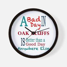 Oak Bluffs Wall Clock