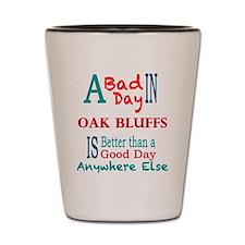 Oak Bluffs Shot Glass
