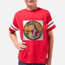 muertita clock2 Youth Football Shirt