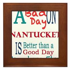Nantucket Framed Tile