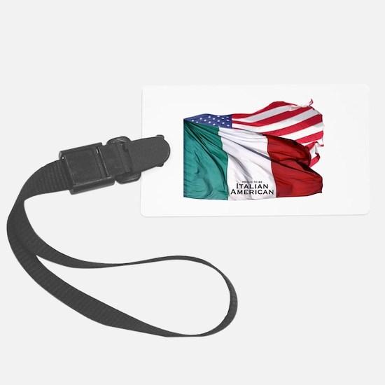 Italian American Luggage Tag