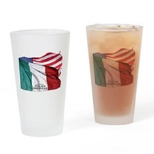 Italian American Drinking Glass