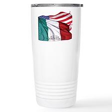 Italian American Travel Mug