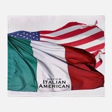 Italian American Throw Blanket