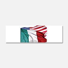Italian American Car Magnet 10 x 3