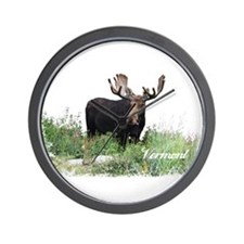 Vermont Moose Wall Clock