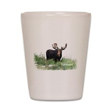 Vermont Moose Shot Glass