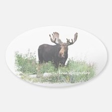 New Hampshire Moose Decal