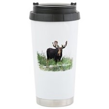 New Hampshire Moose Travel Coffee Mug