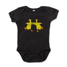 Dancing Ducks Baby Bodysuit