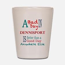 Dennisport Shot Glass