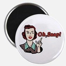 Oh Snap! Retro Chick Magnet