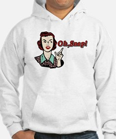Oh Snap! Retro Chick Hoodie
