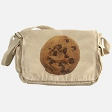 Chocolate Chip Cookie Messenger Bag