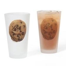 Chocolate Chip Cookie Drinking Glass
