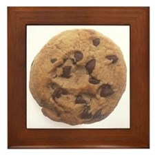 Chocolate Chip Cookie Framed Tile
