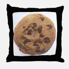Chocolate Chip Cookie Throw Pillow