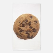 Chocolate Chip Cookie 3'x5' Area Rug