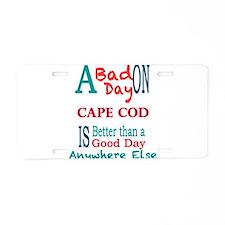 Cape Cod Aluminum License Plate