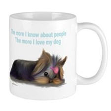 ByCatiaCho Yorkie L.Thinker Small Mug