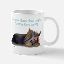 ByCatiaCho Yorkie L.Thinker Small Small Mug