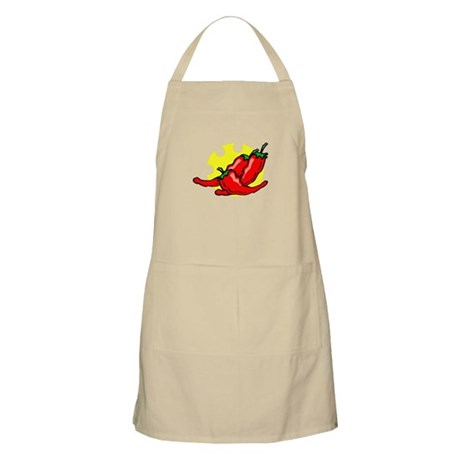 peppers on side chewed sun Apron