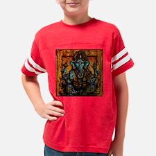 Blue Ganesha Youth Football Shirt