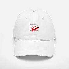 Stylized two red w frame peppers Baseball Baseball Baseball Cap