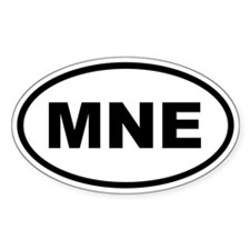 Montenegro MNE Decal