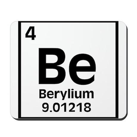 Berylium Mousepad
