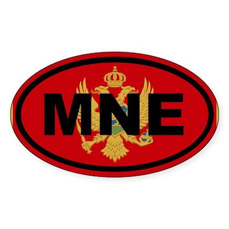Montenegro MNE Sticker