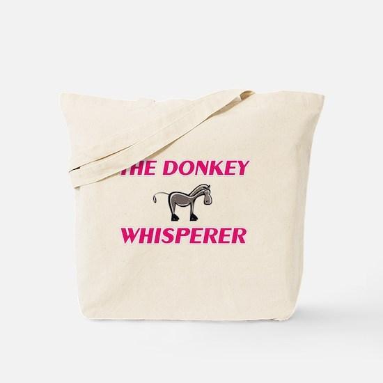 The Donkey Whisperer Tote Bag