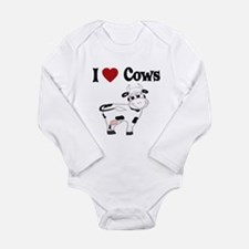 I Love Cows Body Suit
