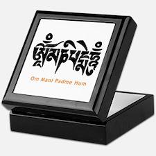 Om Mani Padme Hum Keepsake Box