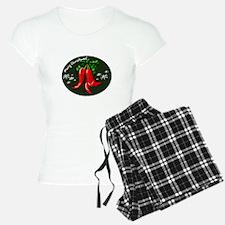 merry christmas red pepper design Pajamas