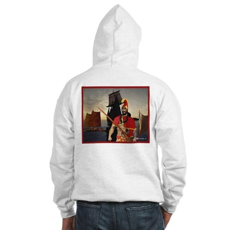 Hooded Sweatshirt, Mighty Ikaika