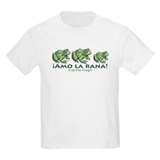 Love Frogs French Kids T-Shirt