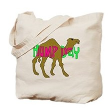 HUMP DAY with Camel Funny Wednesday Tshirt Tote Ba