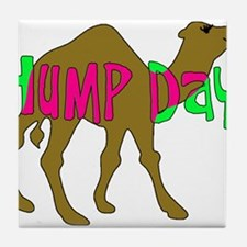 HUMP DAY with Camel Funny Wednesday Tshirt Tile Co