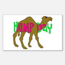 HUMP DAY with Camel Funny Wednesday Tshirt Decal