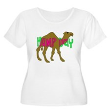HUMP DAY with Camel Funny Wednesday Tshirt Plus Si